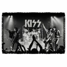 KISS ALIVE! WOVEN THROW BLANKET TAPESTRY OFFICIAL 2016