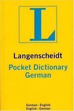 Langenscheidt's Pocket Dictionary German: German-English/English-