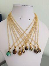 Copper Round Beaded Costume Necklaces & Pendants