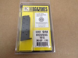 Browning Model 1910 Magazine by Triple K #9M