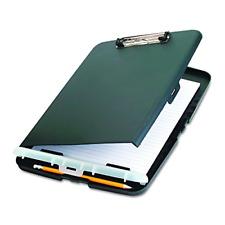 Box Clipboard Storage Organizer Slim Case Office Paper Letter Briefcase Charcoal