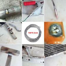 GAS OXY Saldatura Bacchette 45 MIX 330mm 1.6 2.4 3.2MM 15 di ciascuno rivestito in rame ccms.