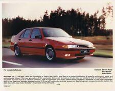 1993 1/2 Saab 9000 Aero Color Press Photo 0014