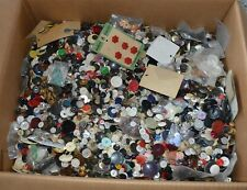 15 1/2 pounds vintage clothing buttons Nice Estates Lot