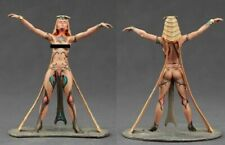 tin toy soldiers  painted Pegaso Girl 80mm The witch