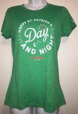 Philadelphia 2 Gingers Whiskey St. Patrick's Day Night Green T-Shirt Women's L