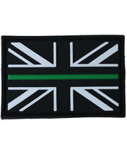 Thin Green Line Ambulance Patch  PVC Moral Union Jack Medic First Aid