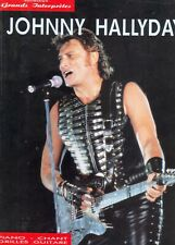 JOHNNY HALLYDAY SONG BOOK PIANO CHANT GRILLES GUITARES PARTITIONS 208 PAGES