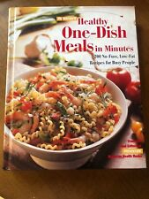 Prevention's HEALTHY ONE-DISH MEALS IN MINUTES (1996) - Like New