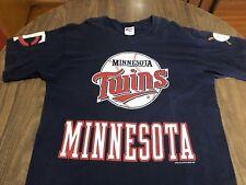 Vintage 1997 Minnesota Twins Pro Player Double Sided XL T Shirt MLB 90s