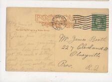 James Booth Cleveland Street Olneyville Providence Rhode Island USA 1911  955a