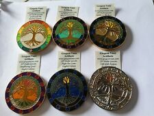Gregson Vaux 2015 6 Different 23rd Psalm Geocoins, Unactivated, Trackable