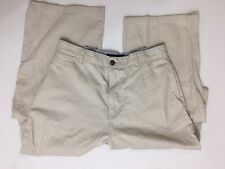 Nautica Clipper Flat Front Straight Leg Khaki Pants – Color Tan – Size 20 NICE!