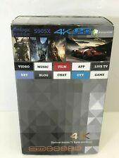 TV Box Multimedia Gateway Internet TV 4K UHD Quad Core A53 Cortes 6.0M 3840x2160