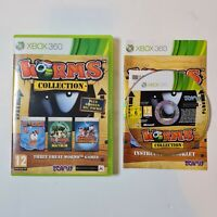 Worms Collection Microsoft Xbox 360 - Complete With Manual - PAL   FREE UK POST