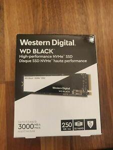 256GB WD Black High Performance SSD M.2 M2 2280 NVMe SSD