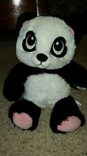 "Buildabear hard Harajuku hugs big eyed panda bear plush 17"" stuffed #EE2"