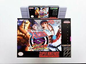Xmen VS Street Fighter - Ported Fighting Game SNES Super Nintendo (USA Seller)