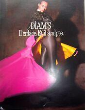 page de publicité   COLLANTS DIAM'S DE   DIM   en   1989 REF 47490
