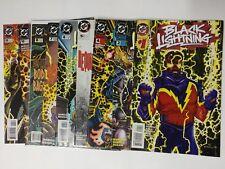 DC Comics Black Lightning 1995 1 2 4 5 6 7 8 10 11 VF+ Bagged