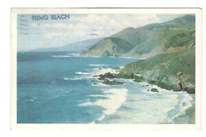 Pismo Beach California Coast Vintage Postcard AF251