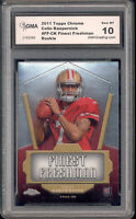 2011 Colin Kaepernick Topps Chrome Finest Freshman  Rookie Gem Mint 10 #FF-CK