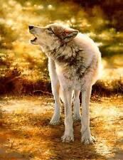 Bonnie Marris WOLFSONG art print Wolf Howl