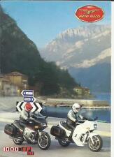 MOTO GUZZI  1000 SP III  MOTORBIKE SALES BROCHURE 1991