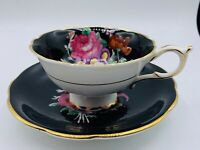 Paragon  Bone China Tea Cup & Saucer Her Majesty Queen Elizabeth  Rare Stunning