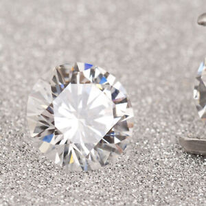 0.27Ct White Color VS Round Cut Moissanite Stone Loose Gemstone For Ring/Pendant