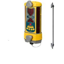 Spectra LR50-1 Machine Control Laser Receiver  Alkaline Batt. w/ MAGNETIC MOUNT