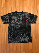 Supreme Pocket Tee T-Shirt Navy Camouflage Large L Box Logo TNF