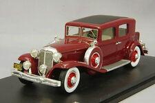 1/43 GLM Handbuild Model Chrysler Imperial CG Club Sedan Dark Red 1931 NEW!