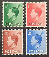 Duzik: Gb Keviii 1936 Sg457/460 Set of 4 M/M stamps (No876)*
