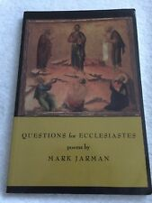 Questions for Ecclesiastes by Jarman, Mark