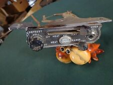 1956 Buick In Dash Heater Controls with Knob Cable Rat Rod Hot Rod