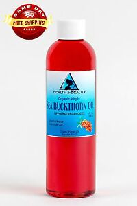 SEA BUCKTHORN OIL UNREFINED ORGANIC by H&B Oils Center CO2 EXTRACTED PURE 4 OZ