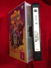 The Wiggles Wiggle Time VHS Video Cassette Tape ABC For Kids Video 1998