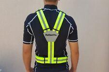 Jogging Warnweste - Fahrradweste Neon Gelb Jacke - Radweste Sicherheitsweste