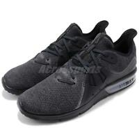 Nike Air Max Sequent 3 III Black Anthracite Grey Men Running Shoes 921694-010