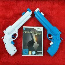 wii GOLDENEYE 007 + 2 NEW Revolver Light Guns
