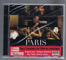 PARIS OST CD (NEUF) KRAKED UNIT PHILIPPE KATERINE WAX TAYLOR QUINCY JONES