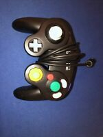 GameCube Controller Black DOL-003 OEM Authentic - Tested & Working