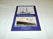Merseyside Maritime Research Society Papers 2007 70th Anniv History Sea Ships