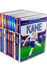 Ultimate Football Heroes Collection 10 Books Set Messi Neymar Ronaldo Kane NEW