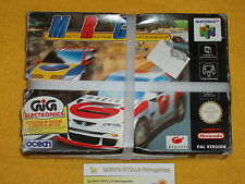 MRC MULTI RACING CHAMPIOSHIP NINTENDO 64 N64 NUOVO NEW PAL LOOK PHOTO