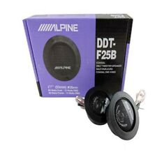 ALPINE DDT-F25B Balanced Dome Car Tweeters Audio High Efficiency Speaker BLG 60W