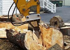 Black Splitter log splitter model S2X800 excavator wood splitter cone splitter