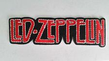 LED ZEPPELIN IRON ON EMBROIDERED PATCH MUSIC ROCK BAND 11cm x 3cm LEGENDS