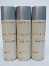 3 PCS! ALFAPARF SEMI DI LINO HAIRSPRAY FIRM HOLD 10.14 OZ  EA
